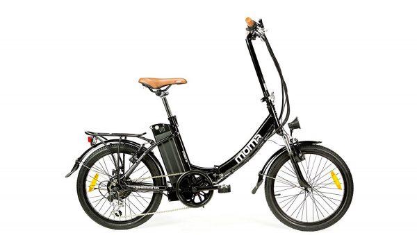 Bici electrica plegable Shimano