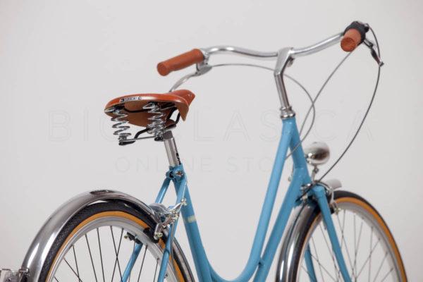 Manillar para Bicicleta Paseo Ciudad Urbana Clasica Retro Aluminio Negro 3542
